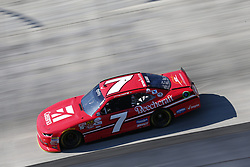 June 2, 2017 - Dover, DE, United States of America - June 02, 2017 - Dover, DE, USA: Justin Allgaier (7) takes to the track  to practice for the Delaware 200 at Dover International Speedway in Dover, DE. (Credit Image: © Justin R. Noe Asp Inc/ASP via ZUMA Wire)