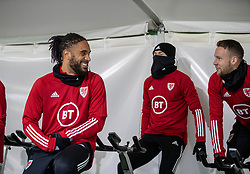 CARDIFF, WALES - Monday, November 18, 2019: Wales' captain Ashley Williams during a training session at the Vale Resort ahead of the final UEFA Euro 2020 Qualifying Group E match against Hungary. (Pic by David Rawcliffe/Propaganda)