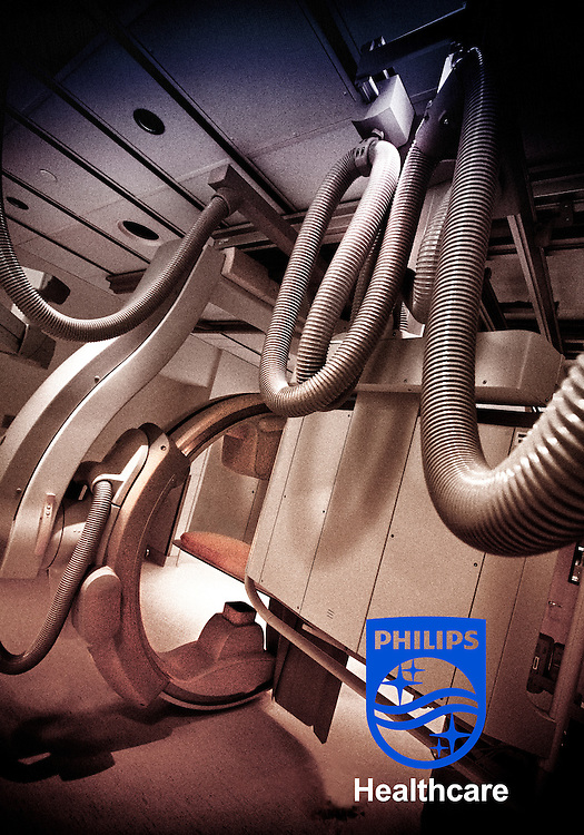 Philips MultiDiagnost Eleva X-ray system at University Medical Center Princeton-Plainsboro.