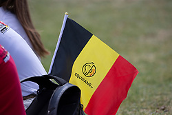Equibel flag<br /> European Championship Children, Juniors, Young Riders - Fontainebleau 1028<br /> © Hippo Foto - Leanjo de Koster<br /> Equibel flag