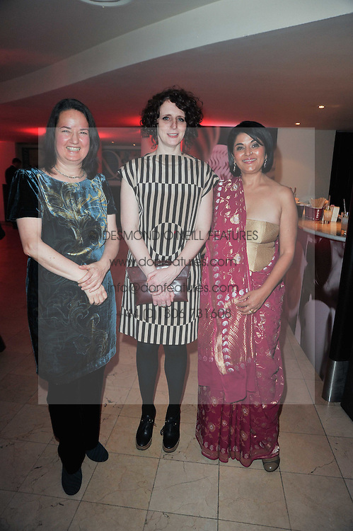 Left to right, Costa Poetry Award Winner 2010 and winner of the 2010 Costa Book of the Year 2010 JO SHAPCOTT &ETH; Of Mutabilit, Costa Novel Award Winner 2010 MAGGIE O'FARRELL &ETH; The Hand That First Held Mine and Costa First Novel Award Winner 2010 KISHWAR DESAI &ETH; Witness the Night at the Costa Book Awards 2010 held at Quaglino's, 16 Bury Street, London on 25th January 2011.<br /> Left to right, Costa Poetry Award Winner 2010 and winner of the 2010 Costa Book of the Year 2010 JO SHAPCOTT &ndash; Of Mutabilit, Costa Novel Award Winner 2010 MAGGIE O'FARRELL &ndash; The Hand That First Held Mine and Costa First Novel Award Winner 2010 KISHWAR DESAI &ndash; Witness the Night at the Costa Book Awards 2010 held at Quaglino's, 16 Bury Street, London on 25th January 2011.
