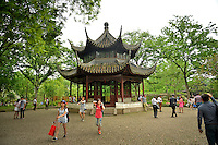 The Celestial Spring Pavilion at the Humble Administrator's Garden.
