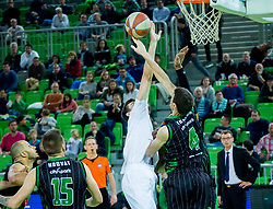 Vlatko Cancar of Mega Bemax during Basketballl match between Petrol Olimpija Ljubljana and Mega Bemax in Round #15 of ABA League, on January 5, 2018 in Arena Stozice, Ljubljana, Slovenia. Photo by Ziga Zupan / Sportida
