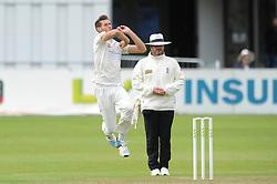 David Payne of Gloucestershire bowls - Mandatory byline: Dougie Allward/JMP - 07966386802 - 22/09/2015 - Cricket - County Ground -Bristol,England - Gloucestershire CCC v Glamorgan CCC - LV=County Championship