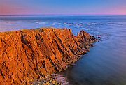 Rocky Point along the Bay of Fundy<br /> Cap d' Or <br /> Nova Scotia<br /> Canada