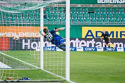 14.07.2019, Allianz Stadion, Wien, AUT, Testspiel, SK Rapid Wien vs 1. FC Nuernberg, im Bild Thomas Murg (SK Rapid Wien) zum 1:1 // Thomas Murg (SK Rapid Wien) scores the 1:1 during a test match for the upcoming Season between SK Rapid Wien and 1. FC Nuernberg in Allianz Stadion in Wien, Austria on 2019/07/14. EXPA Pictures © 2019, PhotoCredit: EXPA/ Florian Schroetter