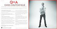 YOSHIFOTO Q+ A with Chris Crutchfield. Designed by Yalonda M. James.