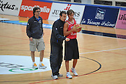 DESCRIZIONE : Trento Primo Trentino Basket Cup Nazionale Italia Maschile <br /> GIOCATORE : Simone Pianigiani Giuseppe Poeta<br /> CATEGORIA : allenamento<br /> SQUADRA : Nazionale Italia <br /> EVENTO :  Trento Primo Trentino Basket Cup<br /> GARA : Allenamento<br /> DATA : 25/07/2012 <br /> SPORT : Pallacanestro<br /> AUTORE : Agenzia Ciamillo-Castoria/M.Gregolin<br /> Galleria : FIP Nazionali 2012<br /> Fotonotizia : Trento Primo Trentino Basket Cup Nazionale Italia Maschile<br /> Predefinita :