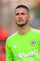Pierrick Cros of Red Star during the French League 2 match between Creteil and Red Star at Stade Dominique Duvauchelle on May 13, 2016 in Creteil, France. ( Photo by Andre Ferreira / Icon Sport )