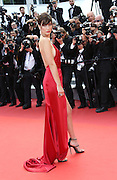 Bella Hadid attend 'The Unknown Girl (La Fille Inconnue)' Premiere during the 69th annual Cannes Film Festival at the Palais des Festivals on May 18, 2016 in Cannes, France<br /> ©Exclusivepix media