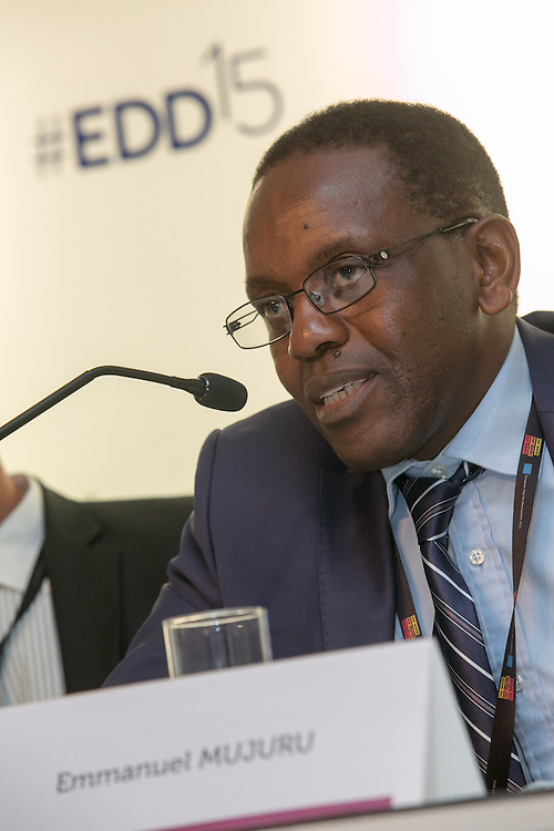 03 June 2015 - Belgium - Brussels - European Development Days - EDD - Health - Pills , pricing and profitability - Emmanuel Mujuru , Chairperson © European Union