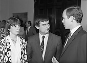 1986 - Prince Albert Of Monaco At Iveagh House.