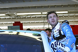 November 11, 2017 - Avondale, Arizona, United States of America - November 11, 2017 - Avondale, Arizona, USA: Kyle Larson (42) hangs out in the garage during practice for the Can-Am 500(k) at Phoenix Raceway in Avondale, Arizona. (Credit Image: © Justin R. Noe Asp Inc/ASP via ZUMA Wire)