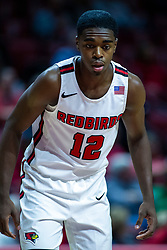 NORMAL, IL - October 23: Antonio Reeves during a college basketball game between the ISU Redbirds and the Truman State Bulldogs on October 23 2019 at Redbird Arena in Normal, IL. (Photo by Alan Look)