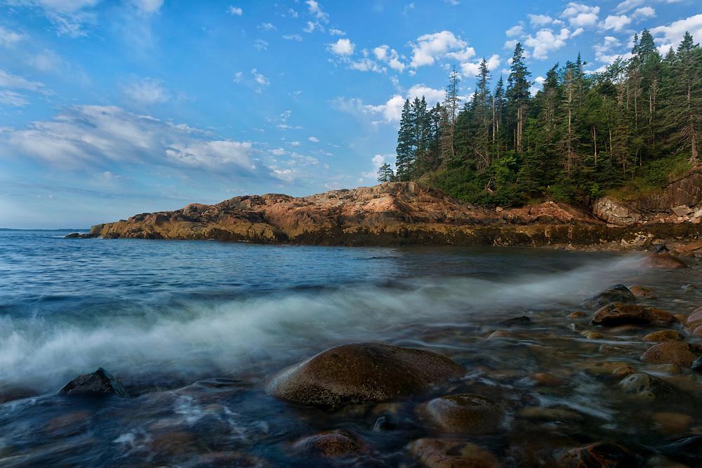 Little Hunters Beach at Hunters Head, Acadia National Park, Maine