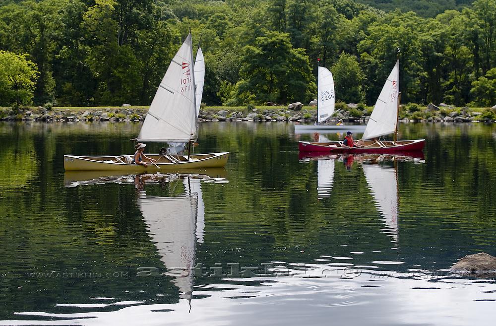 Regatta on Sebago Lake