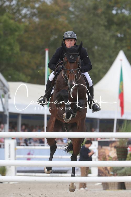 Greve Willem, NED, Grandorado TN<br /> Final 7 years  old Horses<br /> Zangersheide FEI World Breeding Jumping Championship 2018<br /> © Hippo Foto - Julien Counet