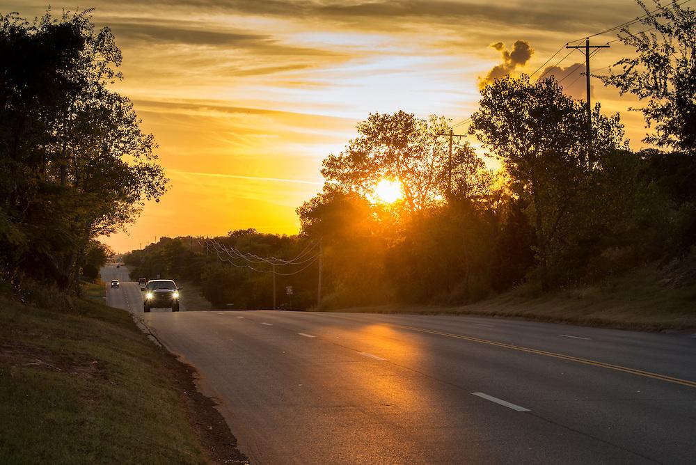 USA,Midwest,Oklahoma, Route 66, Arcadia