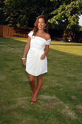 JADE JAGGER at the annual Serpentine Gallery Summer Party in association with Swarovski held at the gallery, Kensington Gardens, London on 11th July 2007.<br /><br />NON EXCLUSIVE - WORLD RIGHTS