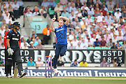 England Ben Stokes during the Royal London One Day International match between England and New Zealand at the Oval, London, United Kingdom on 12 June 2015. Photo by Phil Duncan.