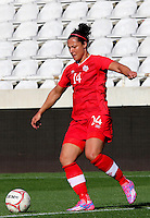 Fifa Womans World Cup Canada 2015 - Preview //<br /> Cyprus Cup 2015 Tournament ( Gsp Stadium Nicosia - Cyprus ) - <br /> Italy vs Canada 0-1   //  Melissa Tancredi of Canada