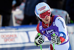 10.01.2015, Adelboden, SUI, FIS Weltcup Ski Alpin, Adelboden, Riesentorlauf, Herren, 2. Durchgang, im Bild Carlo Janka (SUI) enttaeuscht im Ziel // reacts in the finish Area after his run of Adelboden, Switzerland on 2015/01/10. EXPA Pictures © 2015, PhotoCredit: EXPA/ Freshfocus/ Urs Lindt<br /> <br /> *****ATTENTION - for AUT, SLO, CRO, SRB, BIH, MAZ only*****