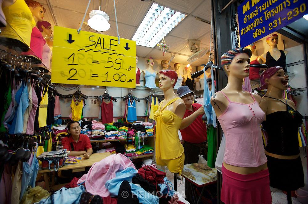 Chatuchak Sunday Market. Fashion boutique.
