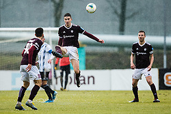 Zan Kumer of NK Triglav during the football match between NK Triglav Kranj and NS Mura in 23rd Round of Prva liga Telekom Slovenije 2019/20, on March 1, 2020 in Športni park Kranj, Kranj, Slovenia. Photo By Grega Valancic / Sportida