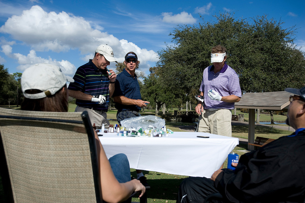 Photograph from the 2012 HAA Fall Golf Tournament at Brae Burn Country Club on December 3, 2012