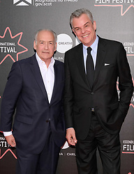 Edinburgh International Film Festival, Thursday 22nd June 2017<br /> <br /> THE LAST PHOTOGRAPH (WORLD PREMIERE)<br /> <br /> Newsreader Alastair Stewart and Danny Huston<br /> <br /> (c) Alex Todd | Edinburgh Elite media