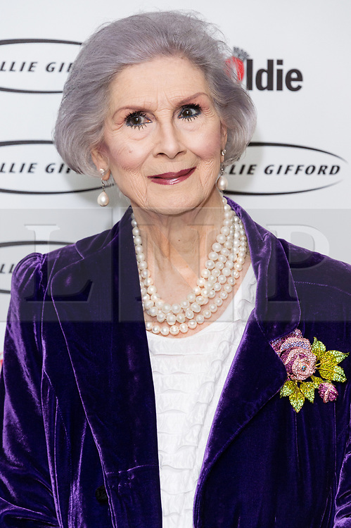 © Licensed to London News Pictures. 30/01/2018. London, UK. LADY APRIL ASHLEY attends The Oldie Of The Year Awards 2018 held at Simpsons In The Strand. Photo credit: Ray Tang/LNP