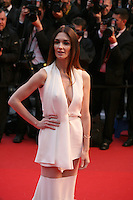 Paz Vega at the red carpet for the gala screening of Jimmy P. Psychotherapy of a Plains Indian film at the Cannes Film Festival 18th May 2013