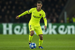 November 28, 2018 - Eindhoven, Netherlands - Philippe Coutinho of Barcelona controls the ball during the UEFA Champions League Group B match between PSV Eindhoven and FC Barcelona at Philips Stadium in Eindhoven, Netherlands on November 28, 2018  (Credit Image: © Andrew Surma/NurPhoto via ZUMA Press)
