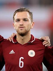 Latvia's Kriss Karklins