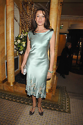 Actress CHERIE LUNGHI at the Chain of Hope Ball held at The Dorchester, Park Lane, London on 4th February 2008.<br />