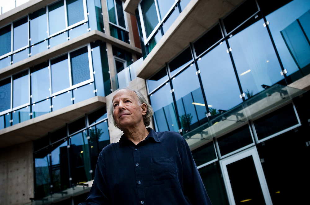 Mike Liebhold, Distinguished Fellow at the Institute for The Future in Palo Alto, California..Photographer: Chris Maluszynski /MOMENT