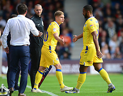 Gavin Reilly of Bristol Rovers replaces Stefan Payne of Bristol Rovers - Mandatory by-line: Alex James/JMP - 15/09/2018 - FOOTBALL - Kenilworth Road - Luton, England - Luton Town v Bristol Rovers - Sky Bet League One