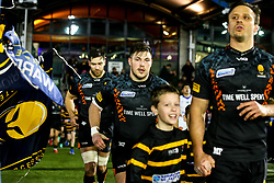 Ethan Waller of Worcester Warriors - Mandatory by-line: Robbie Stephenson/JMP - 17/01/2020 - RUGBY - Sixways Stadium - Worcester, England - Worcester Warriors v Castres Olympique - European Rugby Challenge Cup