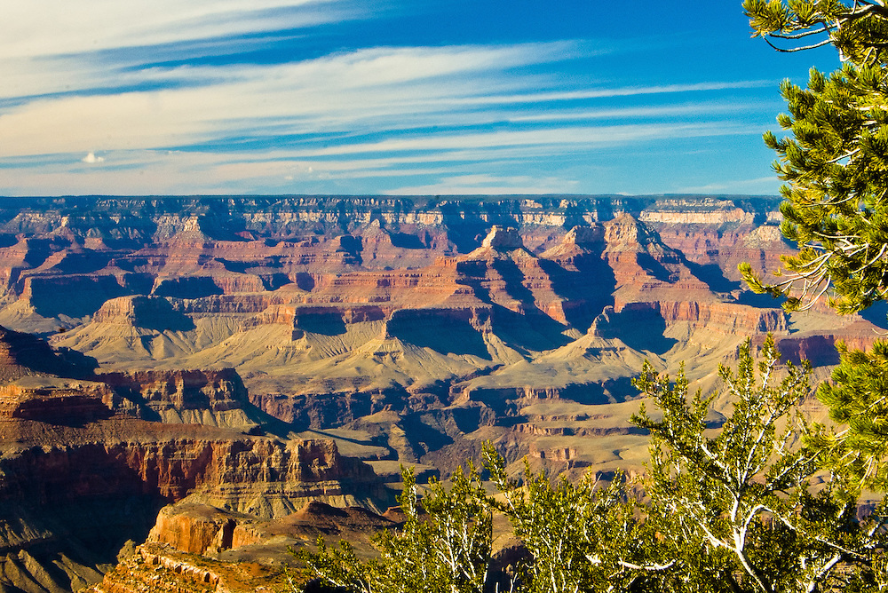 Overview of Grand Canyon in Arizona