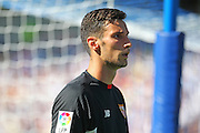 Sergio Rico of Sevilla during the Pre-Season Friendly match between Brighton and Hove Albion and Sevilla at the American Express Community Stadium, Brighton and Hove, England on 2 August 2015. Photo by Phil Duncan.
