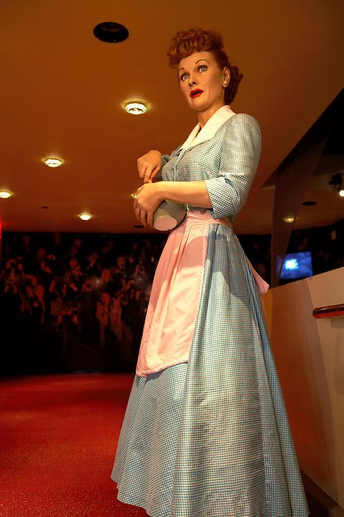 .Lucille Ball.Madame Tussaud's Wax Museum.Las Vegas, Museum