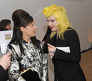 Pam Hogg attends the Swarovski Whitechapel Gallery Art Plus Opera, Whitechapel Gallery. An evening of art and opera raising funds for the Whitechapel Gallery. 77-82 Whitechapel High St. London E1 3BQ. 15 March 2012.