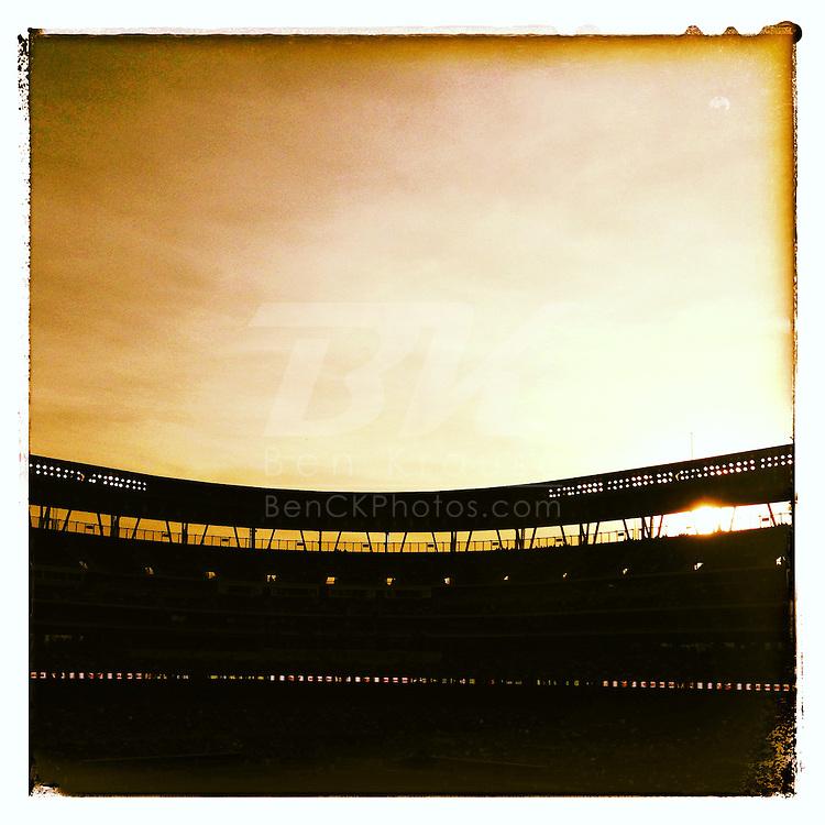 An Instagram of Target Field in Minneapolis, Minnesota.