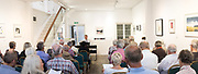 John Harper provides a guide through the piano concertos of Beethoven, as an introduction to the evenings concert by Freddy Kempt and the Wiener Kammersymphonie. In Linden Hall Studio, Deal. © Tony Nandi 2017