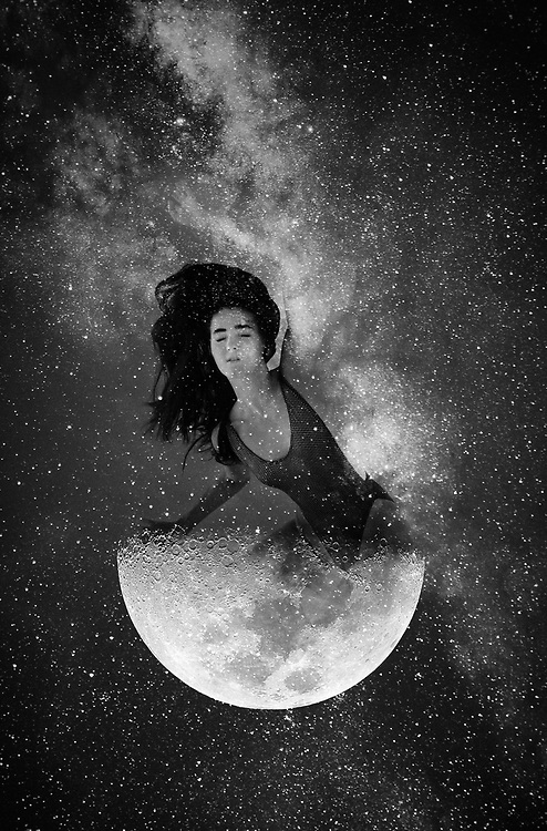 Dedicated to the many PHASES of the moon.  Lunar shapes with fashion models.<br /> &copy;justinalexanderbartels.com