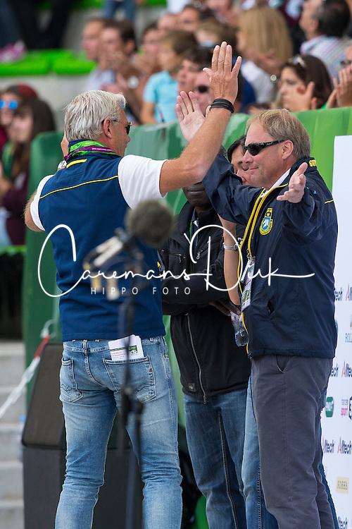 Rolf Goran Bengtsson, (SWE), Casall Ask - World Champions, - Second Round Team Competition - Alltech FEI World Equestrian Games&trade; 2014 - Normandy, France.<br /> &copy; Hippo Foto Team - Leanjo De Koster<br /> 25/06/14