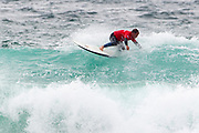 Adrian Napper (UK) during the Boardmasters Longboard Pro at Fistral Beach, Newquay, Cornwall, United Kingdom on 10 August 2019.