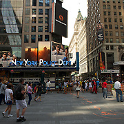 A selection of images of New York city life.<br /> The photographs have been taken in a one day walk around down town Manhatten.