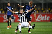 Miranda Inter, Gonzalo Higuain Juventus <br /> Milano 28-04-2018 Stadio Giuseppe Meazza in San Siro Football Calcio Serie A 2017/2018 Inter - Juventus Foto Andrea Staccioli / Insidefoto