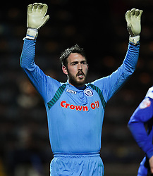 Rochdale's Josh Lillis  - Photo mandatory by-line: Matt McNulty/JMP - Mobile: 07966 386802 - 24/02/2015 - SPORT - Football - Rochdale - Spotland Stadium - Rochdale v Sheffield United - Sky Bet League One